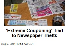 'Extreme Couponing' Tied to Newspaper Thefts