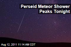 Perseid Meteor Shower Peaks Overnight Friday