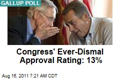 Congress Approval Rating: Gallup Poll Shows Just 13% Approve, 84% Disapprove