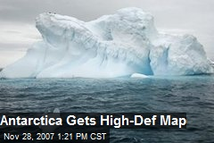 Antarctica Gets High-Def Map