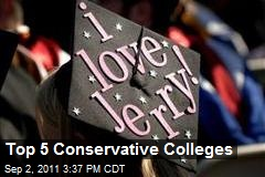 Top 5 Conservative Colleges