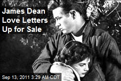James Dean Love Letters Up for Sale