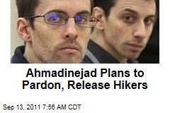 American Hikers Shane Bauer and Josh Fattal Could Be Pardoned, Released This Week: Mahmoud Ahmadinejad