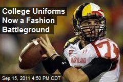 College Uniforms Now a Fashion Battleground
