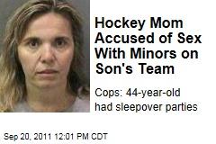 Hockey mor sex