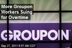 Second Group of Groupon Workers Suing for OT