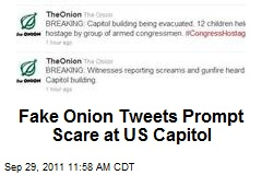 Fake Onion Tweets Prompt Scare at US Capitol