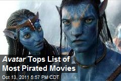 Avatar Tops List of Most Pirated Movies