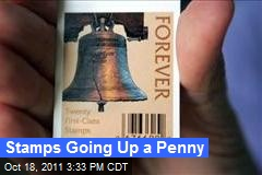 Stamps Going Up a Penny