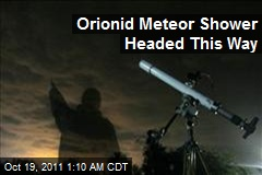 Orionid Meteor Shower Headed This Way