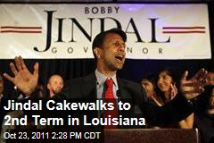 Louisiana Governor Bobby Jindal Wins Second Term