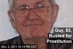 Guy, 83, Busted for Prostitution