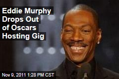 Eddie Murphy Won't Host the Oscars