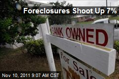 Foreclosures Shoot Up 7%