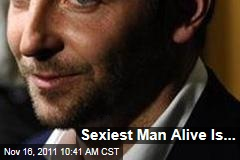 Bradley Cooper Is People's Sexiest Man Alive for 2011