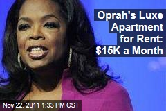 Oprah Winfrey's Luxe Chicago Apartment for Rent for $15K a Month