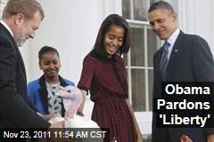 President Obama to Pardon Turkeys 'Liberty,' 'Peace' for Thanksgiving