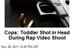 Cops: Toddler Shot in Head During Rap Video Shoot