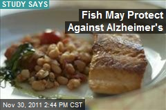 Fish May Protect Against Alzheimer's