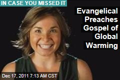 Texas Evangelical Spreads the Global Warming Gospel