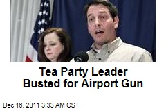 Tea Party Patriots Chief Mark Meckler Arrested for Airport Gun