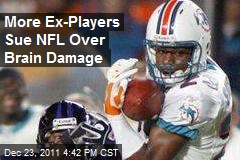 More Ex-Players Sue NFL Over Brain Damage