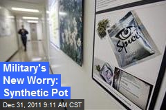 Military's New Worry: Synthetic Pot