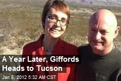 A Year Later, Giffords Heads to Tucson