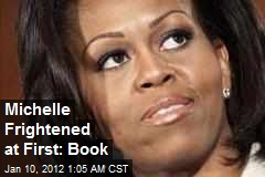 Michelle Frightened at First: Book