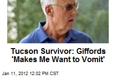 Survivor: Giffords 'Makes Me Want to Vomit'