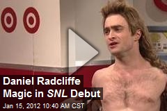 Daniel Radcliffe Magic in SNL Debut