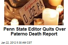Joe Paterno Death Report: Student Editor Quits Over Wrong Report of Coach's Death; National Media Picked Story Up