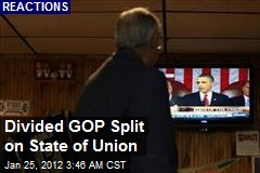 Divided GOP, Mixed Response to State of Union