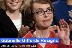 Gabrielle Giffords Resigns