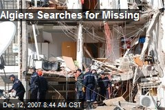 Algiers Searches for Missing