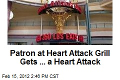Patron at Heart Attack Grill Gets ... a Heart Attack