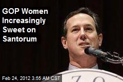 GOP Women Sweet on Santorum
