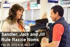 Sandler, Jack and Jill Rule Razzie Noms