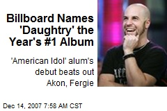 Billboard Names 'Daughtry' the Year's #1 Album