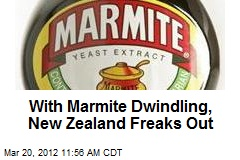 With Marmite Dwindling, New Zealand Freaks Out