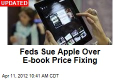 Feds May Smack Apple With Ebook Suit Today