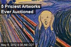 5 Priciest Artworks Ever Auctioned