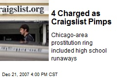 4 Charged as Craigslist Pimps