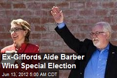 Ex-Giffords Aide Ron Barber Wins Special Election
