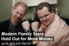 Modern Family Stars Hold Out for More Money