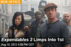 Expendables 2 Limps Into 1st