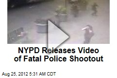 NYPD Releases Video of Fatal Police Shootout
