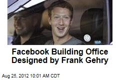 Facebook Building Office Designed by Frank Gehry