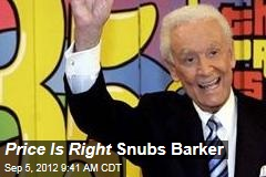 Price Is Right Snubs Barker in 40th Anniversary Special