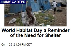 World Habitat Day a Reminder of the Need for Shelter
